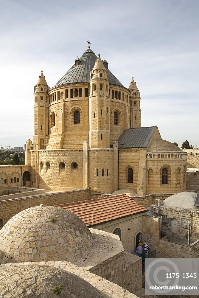 The Dormition Abbey, Jerusalem, Israel