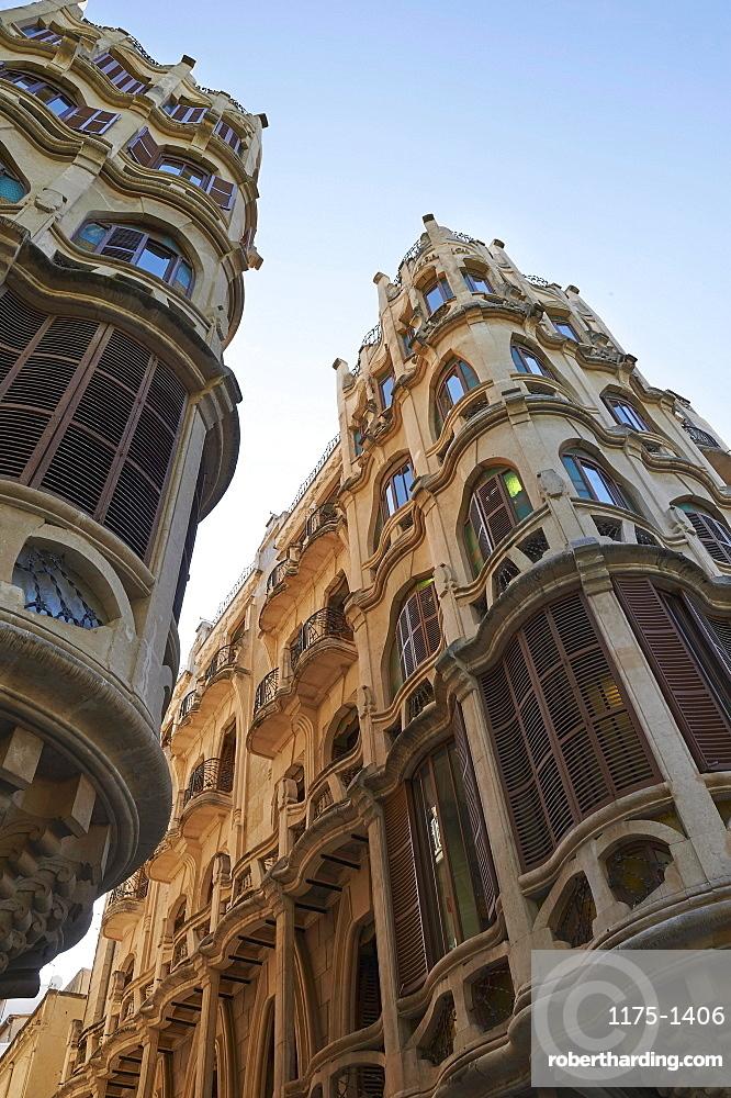 An art deco house in Palma, Majorca, Spain