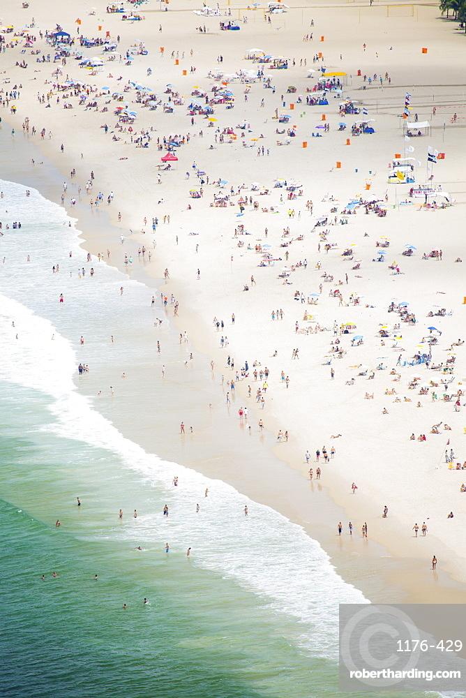 Copacabana Beach, Rio de Janeiro, Brazil, South America