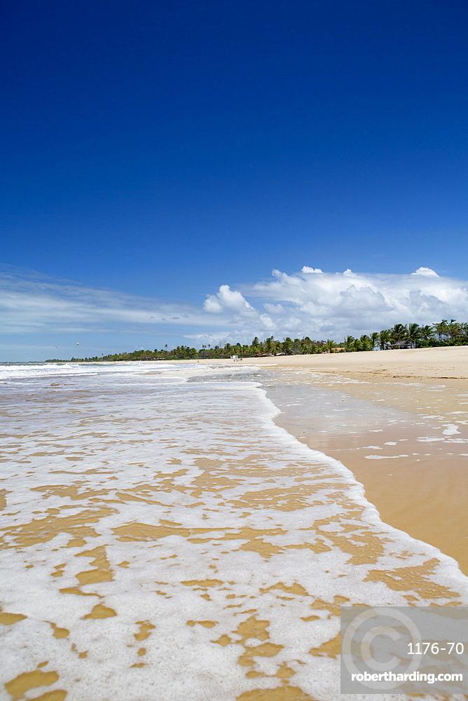 Beach, Caraiva, Bahia, Brazil, South America