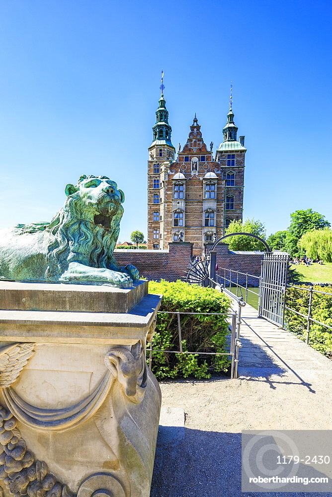 Rosenborg Castle built in the Dutch Renaissance style, Copenhagen, Denmark, Europe