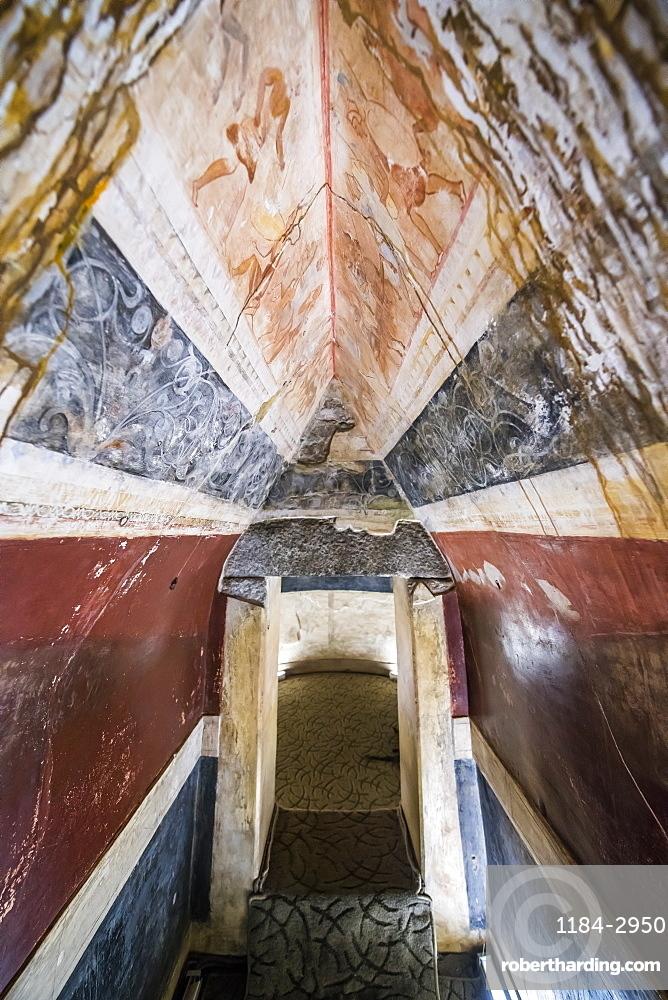 The Thracian Tomb of Kazanlak, UNESCO World Heritage Site, Bulgaria, Europe
