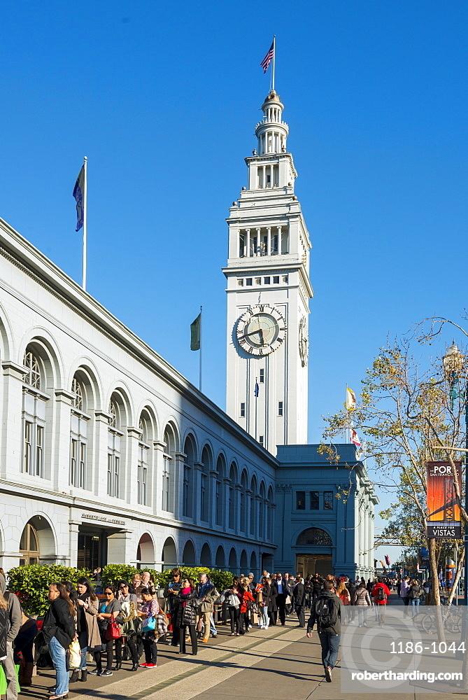Embarcadero, San Francisco, California, United States of America, North America