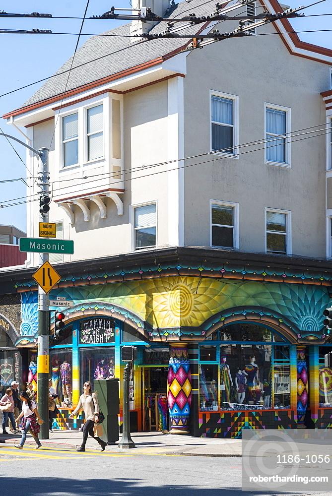 Haight-Ashbury, San Francisco, California, United States of America, North America