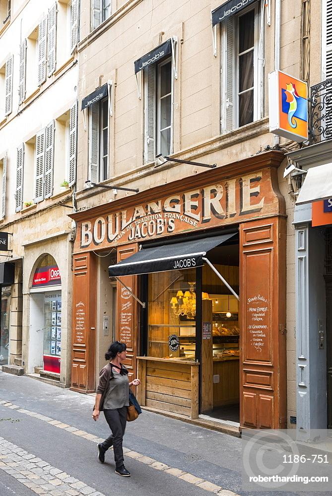 Streets of Aix en Provence, Bouches du Rhone, Provence, Provence-Alpes-Cote d'Azur, France, Europe