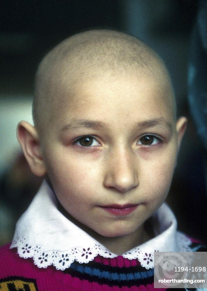 Ukraine child cancer in remission childrens hospital