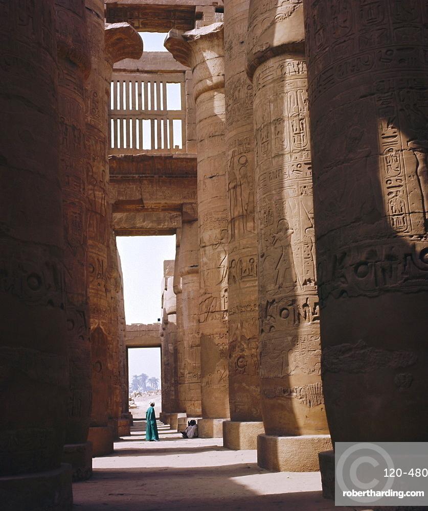 Great Hypostyle Hall, Karnak Temple, Luxor, Egypt