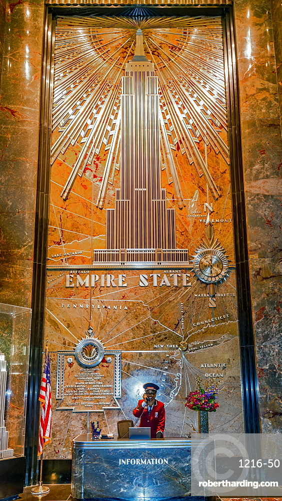 Empire State Building, New York City, New York, United States of America, North America