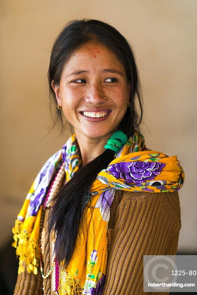 A Nepali woman, Nepal, Asia