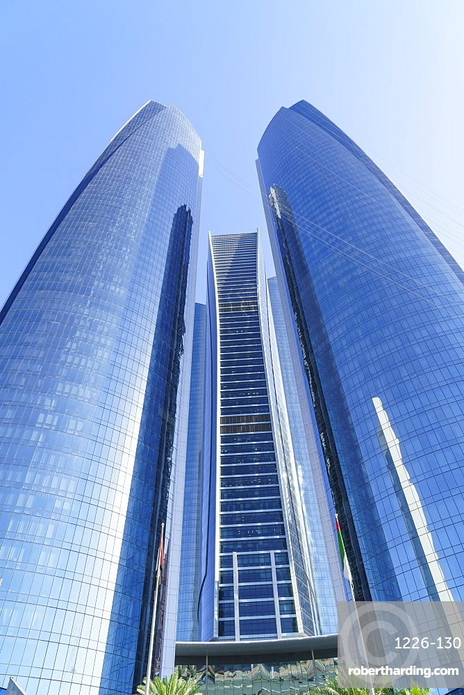 Etihad Towers, Abu Dhabi, United Arab Emirates, Middle East