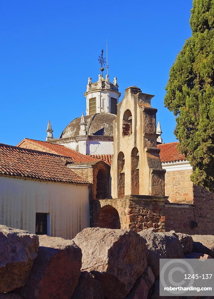 View of the Jesuit Estancia, Jesus Maria, UNESCO World Heritage Site, Cordoba Province, Argentina, South America
