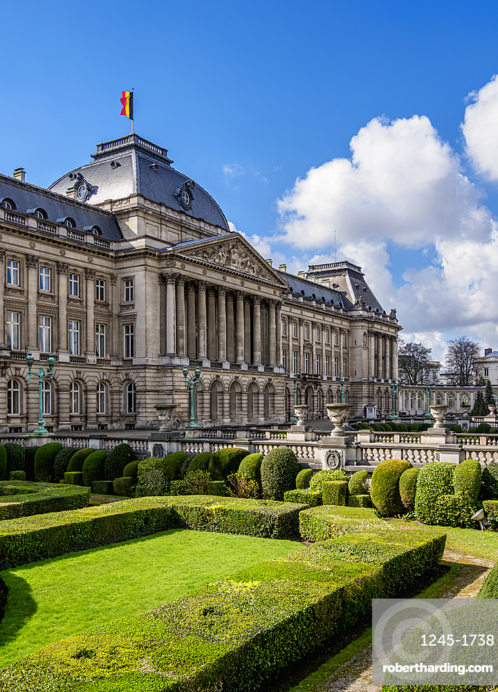 Royal Palace of Brussels, Belgium, Europe