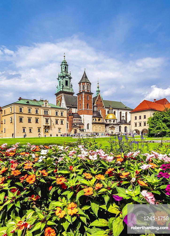 Wawel Cathedral, Cracow (Krakow), UNESCO World Heritage Site, Lesser Poland Voivodeship, Poland, Europe