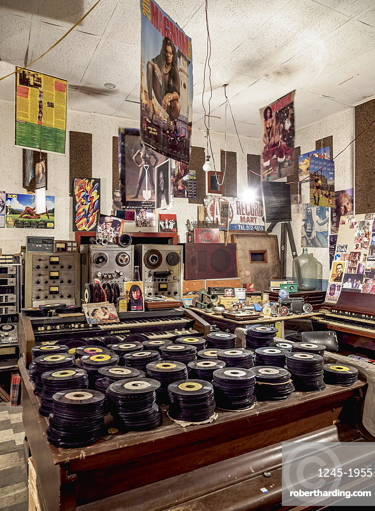 Randy's Recording Studio, Downtown, Kingston, Kingston Parish, Jamaica, West Indies, Caribbean, Central America