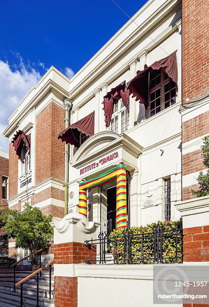 Institute of Jamaica, Downtown, Kingston, Kingston Parish, Jamaica