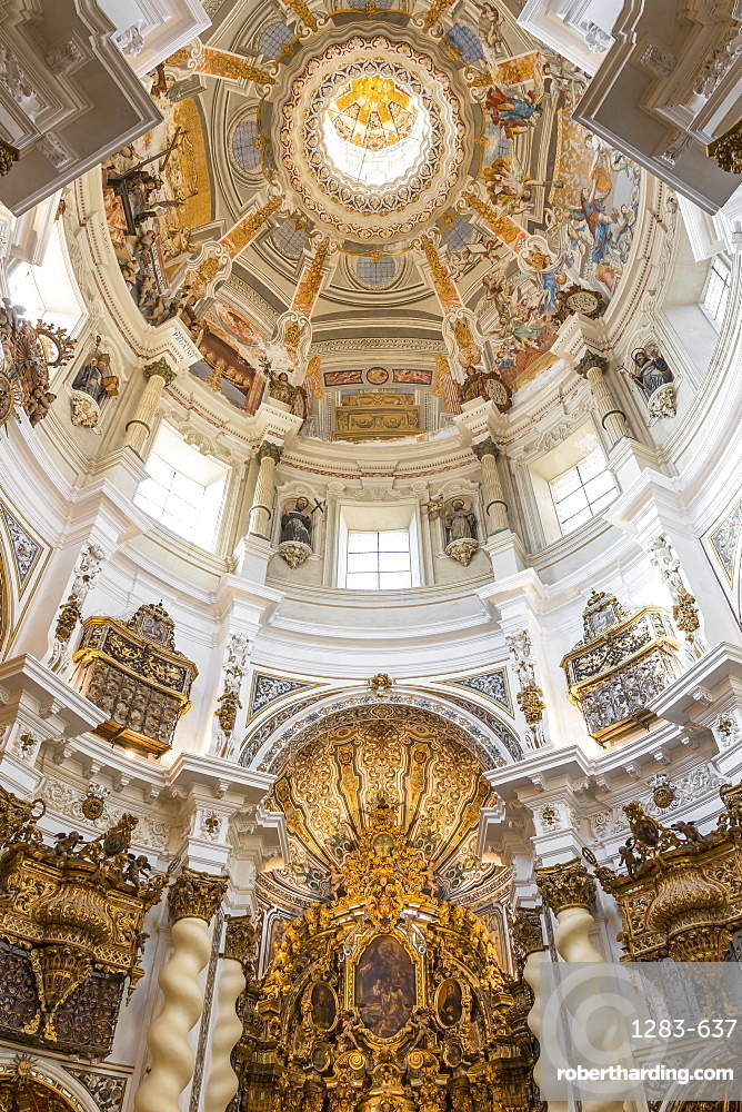 Interior of the San Luis de los Franceses Church, Seville, Andalusia, Spain, Europe