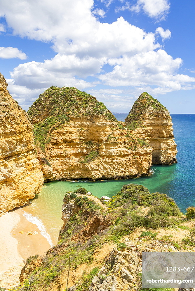 Pinheiros Beach, Lagos, Algarve, Portugal, Europe