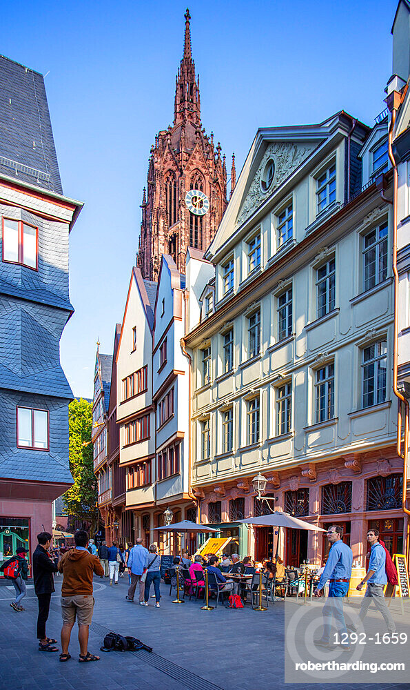 New Old town, Frankfurt am Main, Hesse, Germany, Europe