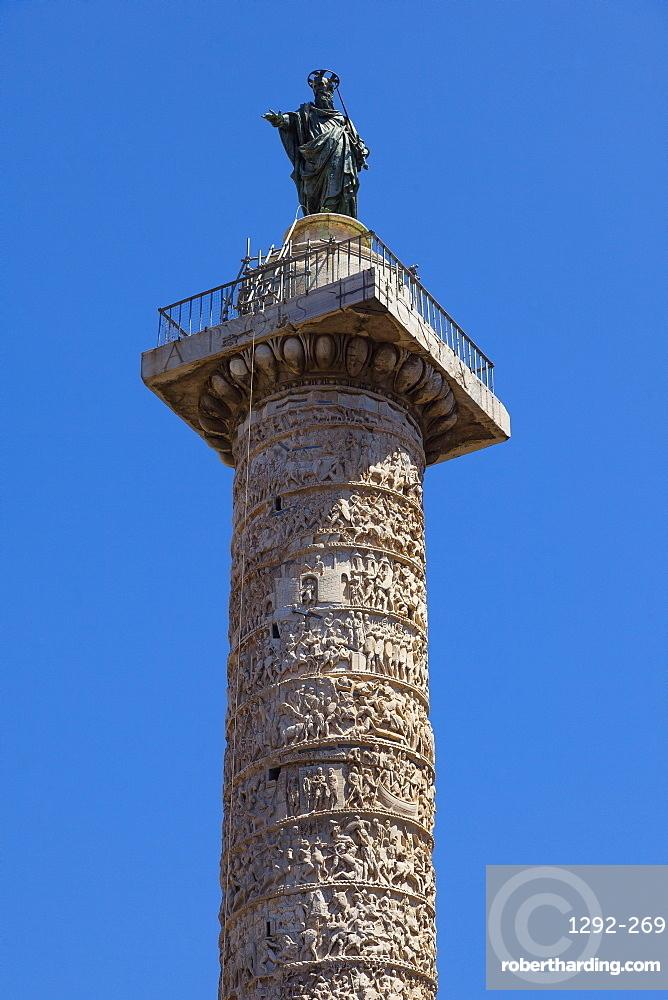 Piazza Colonna, Rome, Lazio, Italy, Europe