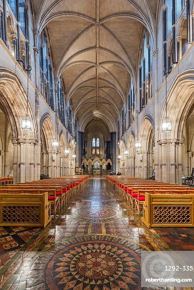 The main nave, The Christ Church, Dublin, Republic of Ireland, Europe