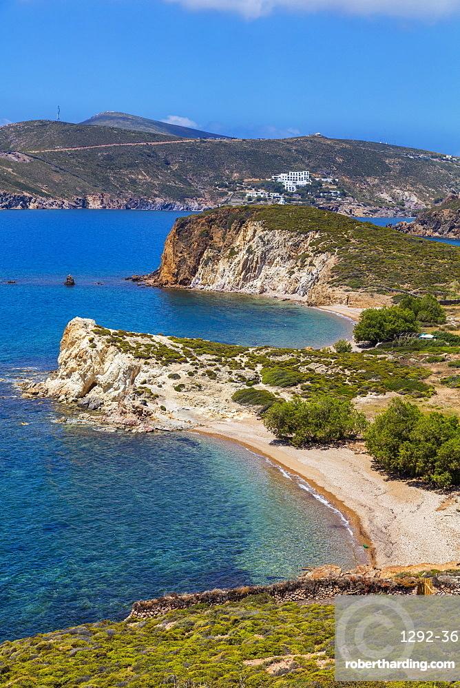 Livadi Liginou Beach, Patmos, Dodecanese, Greek Islands, Greece, Europe