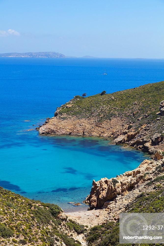 Lemonou coast, Patmos, Dodecanese, Greek Islands, Greece, Europe