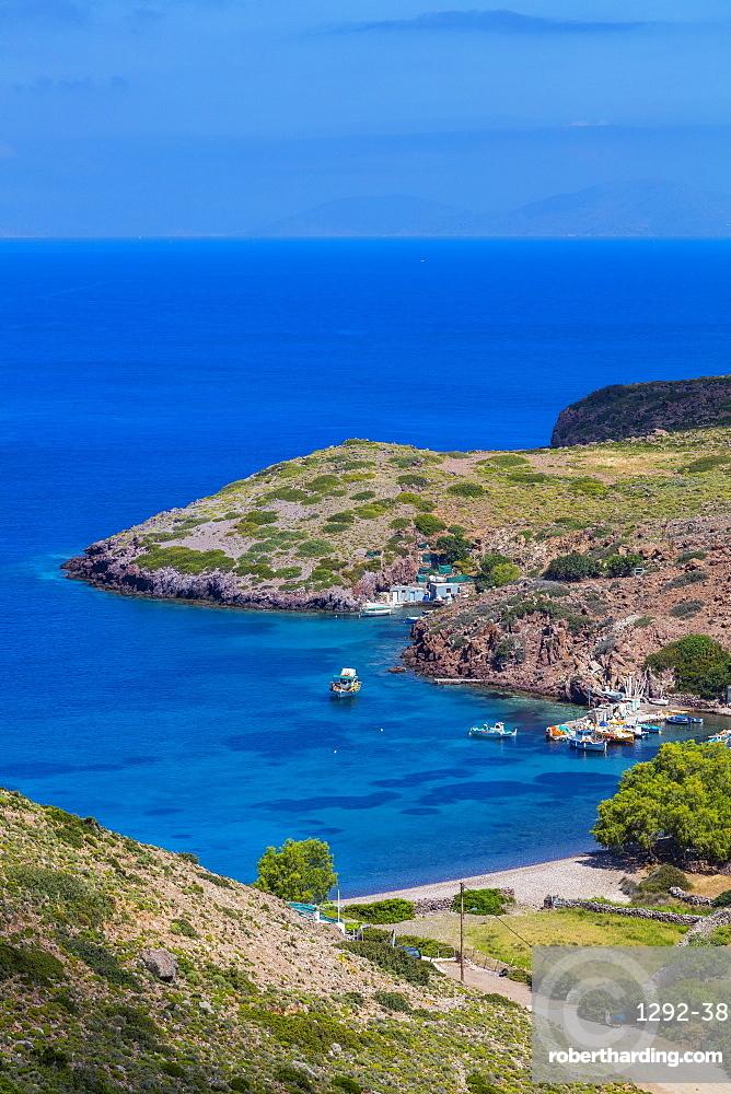 Livadi Kalogiron Beach, Patmos, Dodecanese, Greek Islands, Greece, Europe