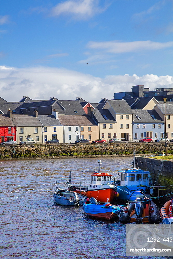The Long Walk, Galway, County Galway, Connacht, Republic of Ireland, Europe