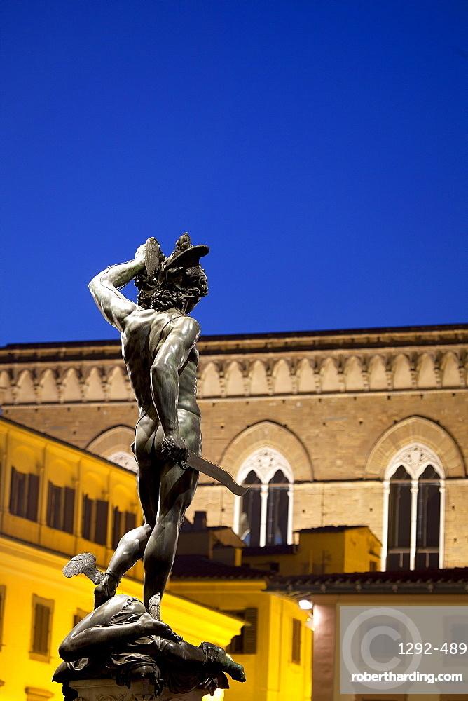 Piazza della Signoria, Florence, UNESCO World Heritage Site, Tuscany, Italy, Europe