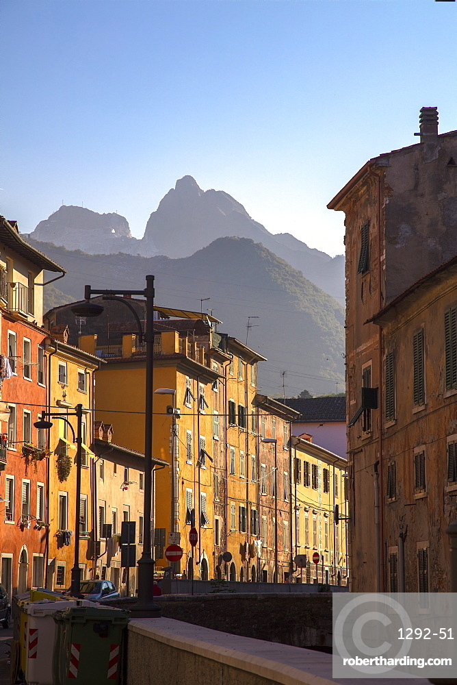 Via Carriona, Carrara, Tuscany, Italy, Europe
