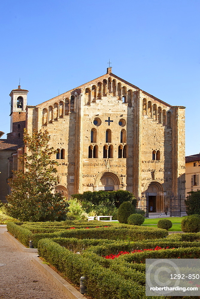 St. Michael church, Pavia, Lombardy, Italy, Europe