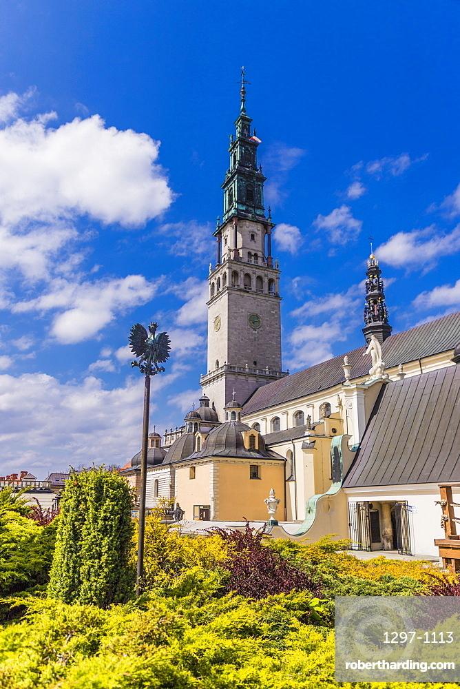 The Jasna Gora Monastery in Czestochowa, Poland, Europe