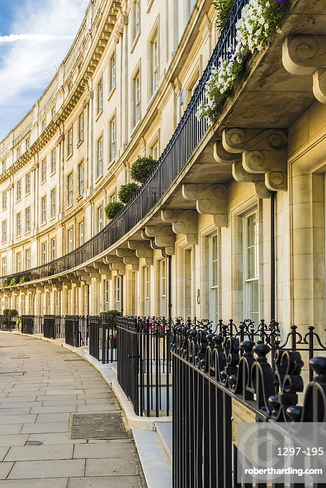 Typically grand architecture in Belgravia, London, England, United Kingdom, Europe