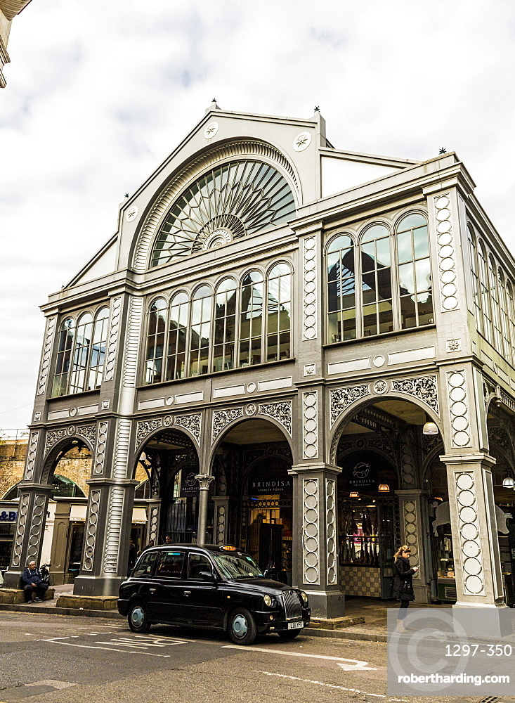 The Floral Hall building in Borough Market, Southwark, London, England, United Kingdom, Europe