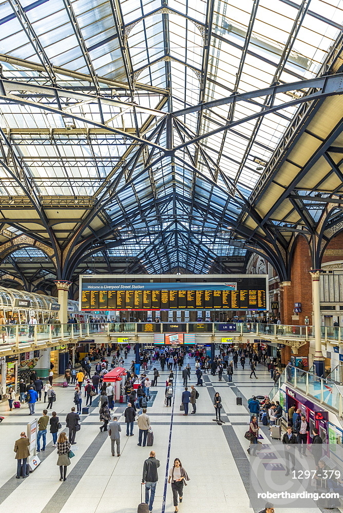 Liverpool Street Station, London, England, United Kingdom, Europe