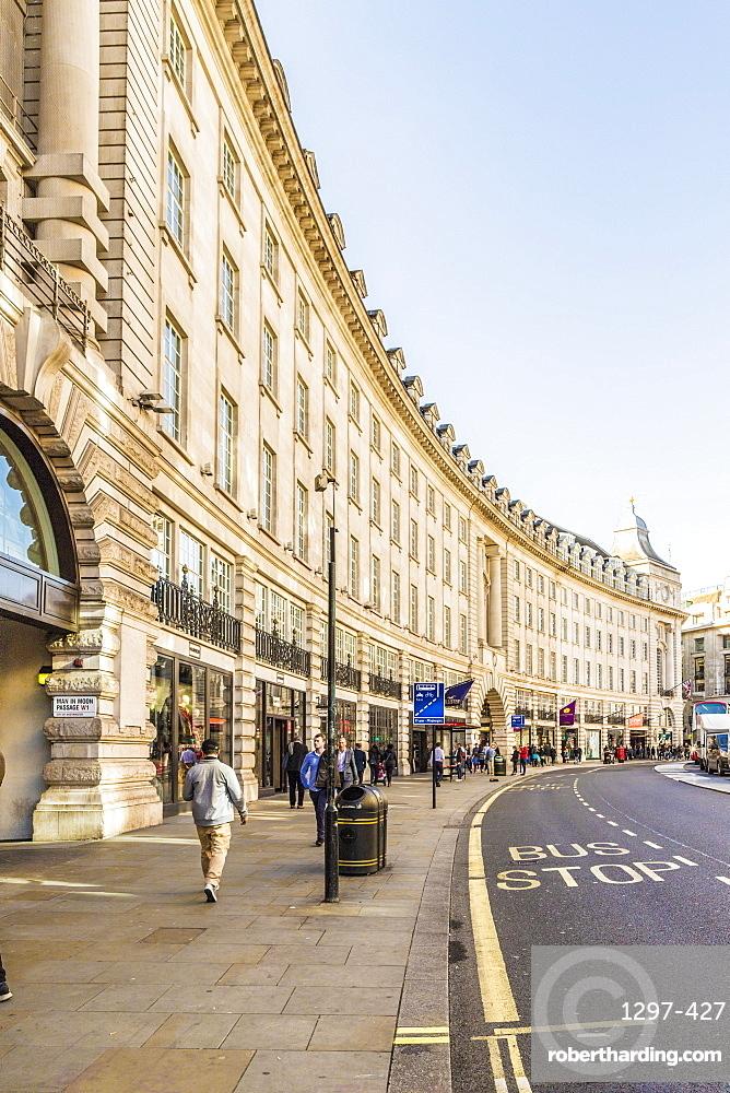Regent Street, London, England, United Kingdom, Europe