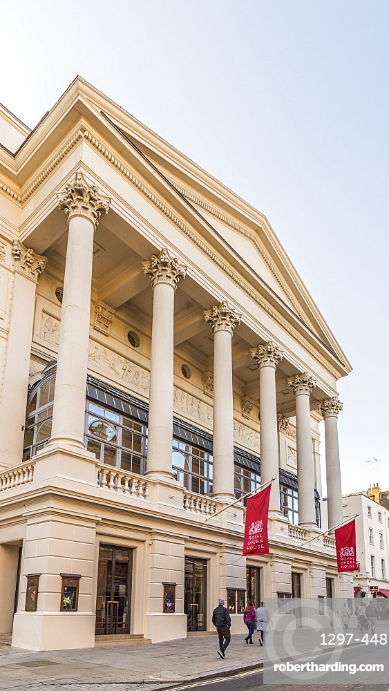 The Royal Opera House in Covent Garden, London, England, United Kingdom, Europe