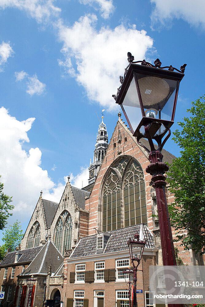 Oude Kerk, Amsterdam, North Holland, Netherlands, Europe