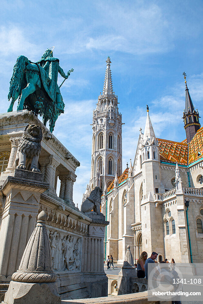 Church of the Assumption of the Buda Castle (Matthias Church), Budapest, Hungary, Europe