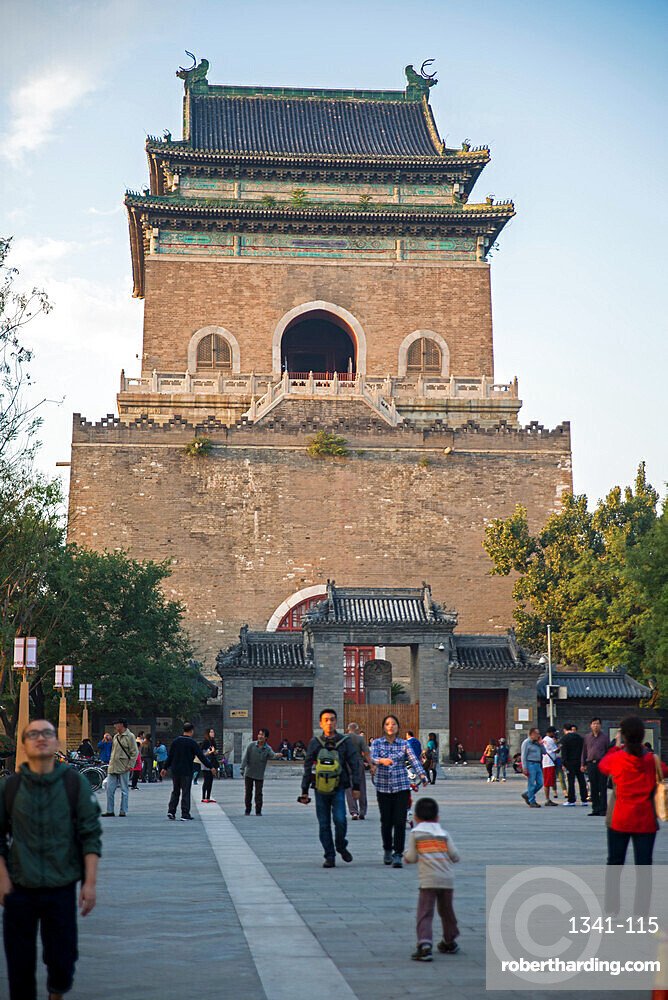 Bell Tower, Beijing, China, Asia