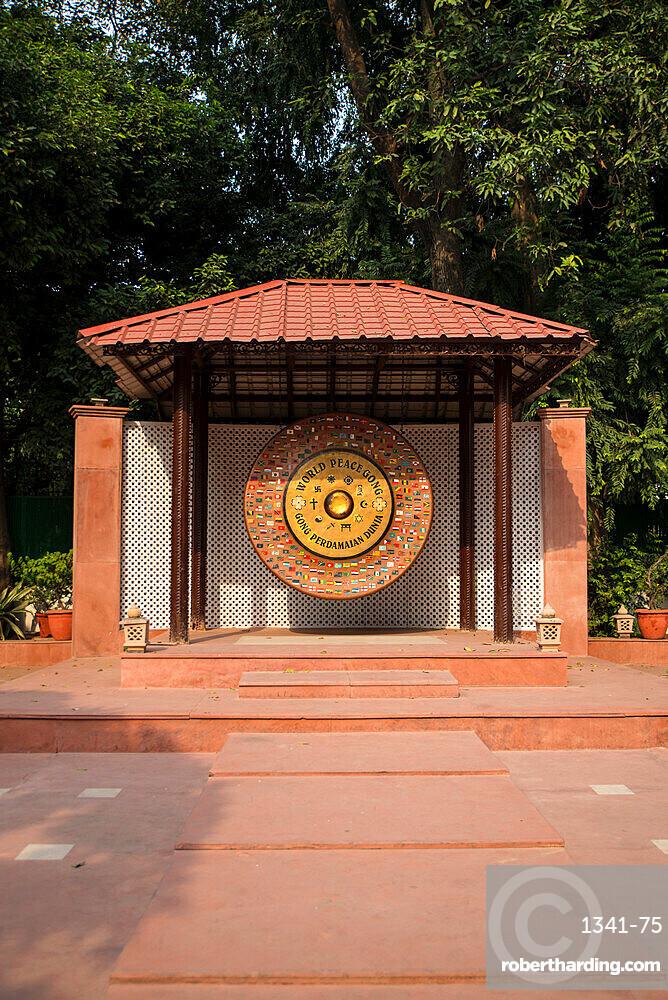 Gandhi Smriti, Memorial Museum to Mahatma Gandhi and site of assassination, New Delhi, India, Asia