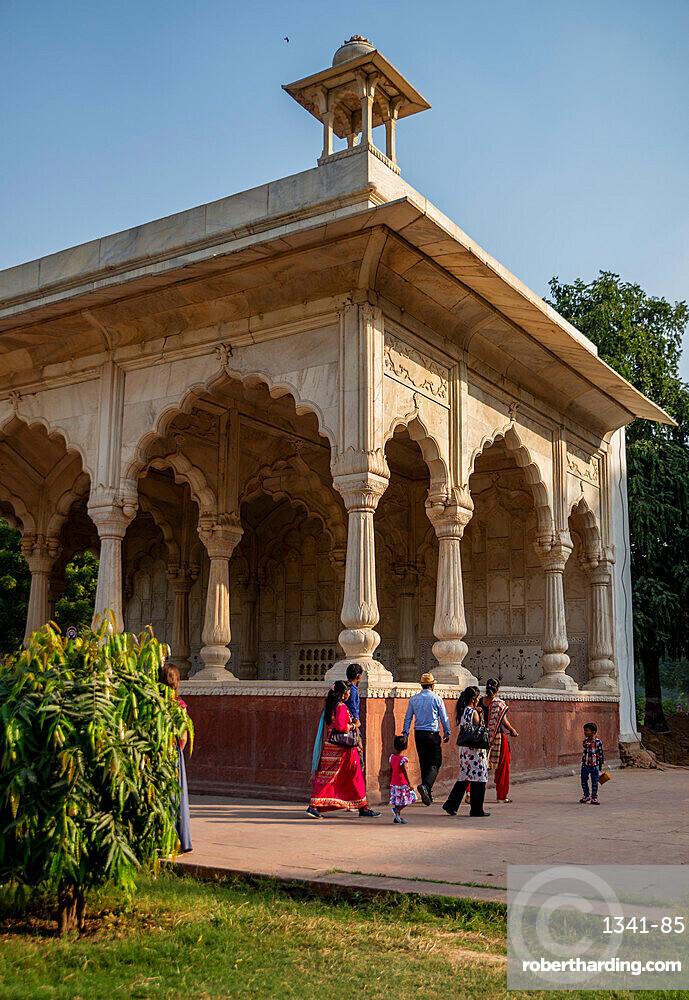 Red Fort, UNESCO World Heritage Site, Delhi, India, Asia
