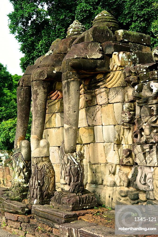 Royal Palace, Angkor Thom, Angkor, UNESCO World Heritage Site, Cambodia, Indochina, Southeast Asia
