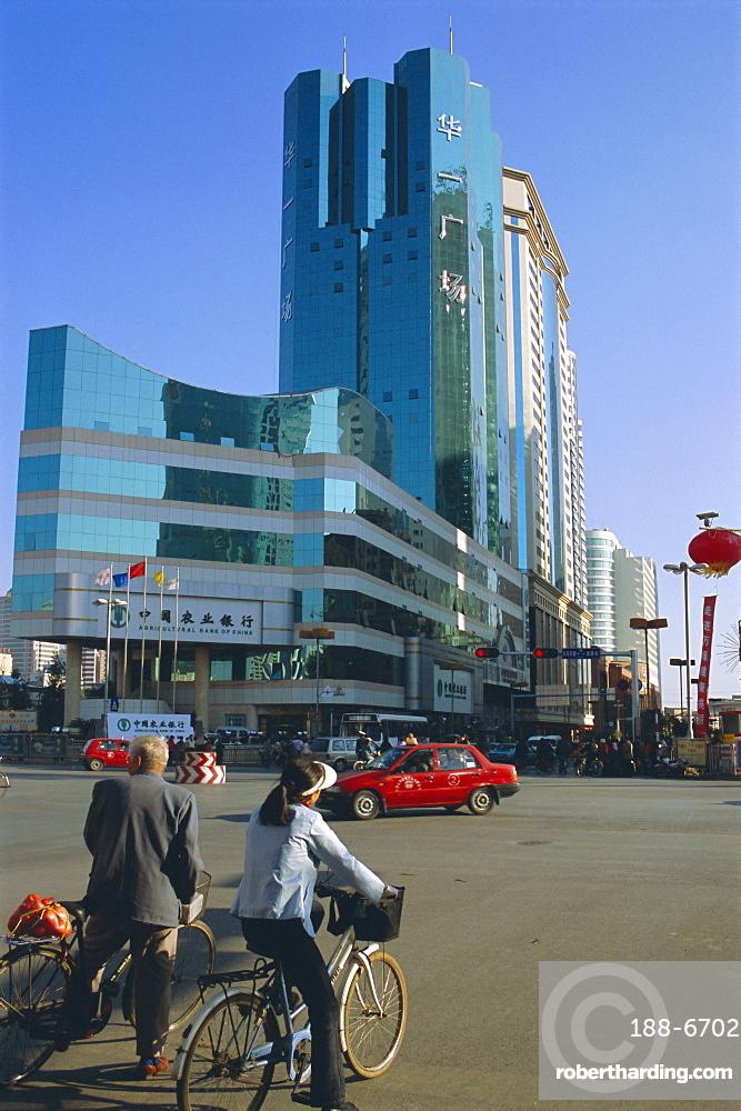 Modern buildings, Kunming, Yunnan Province, China