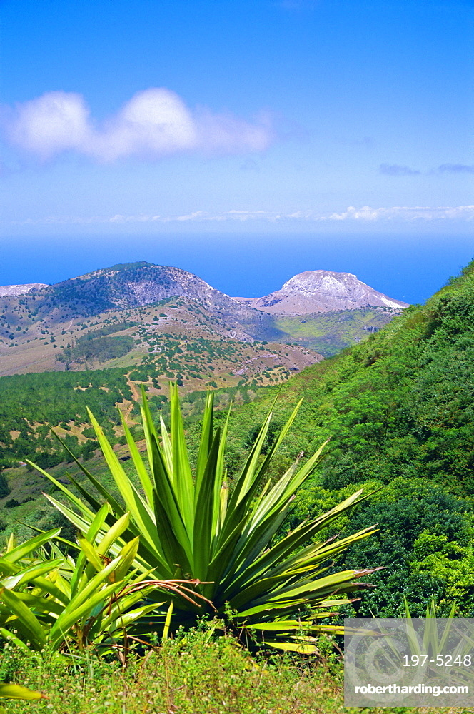 View from Green Mountain, Ascension Island, Mid-Atlantic