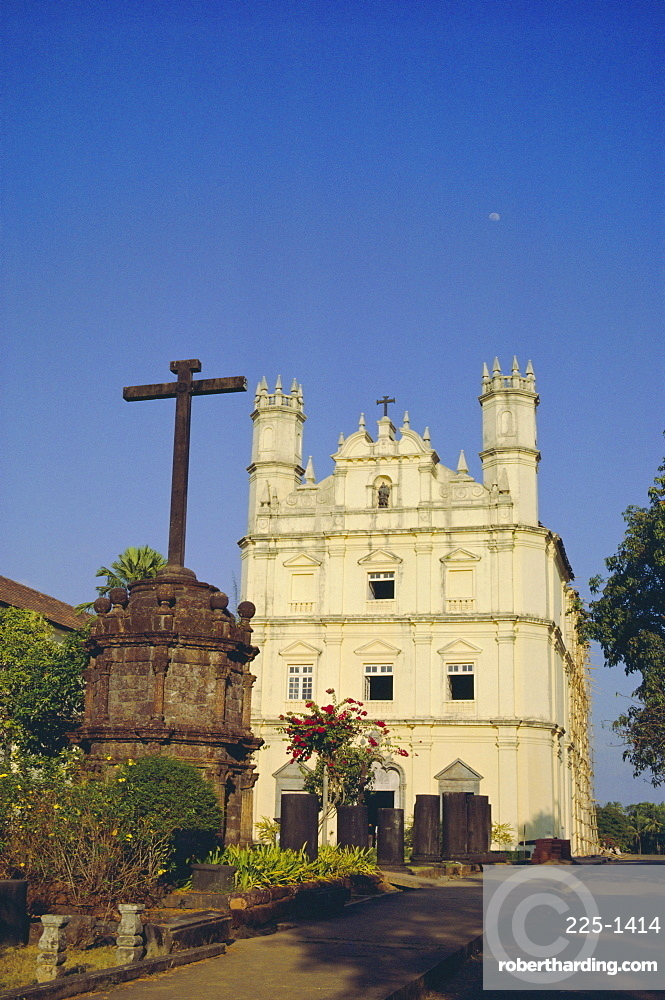 The Church of St Francis of Assisi, Old Goa, Goa, India
