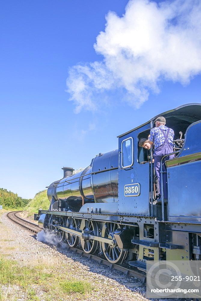 The West Somerset Railway, Watchet Station, Somerset, England, United Kingdom, Europe