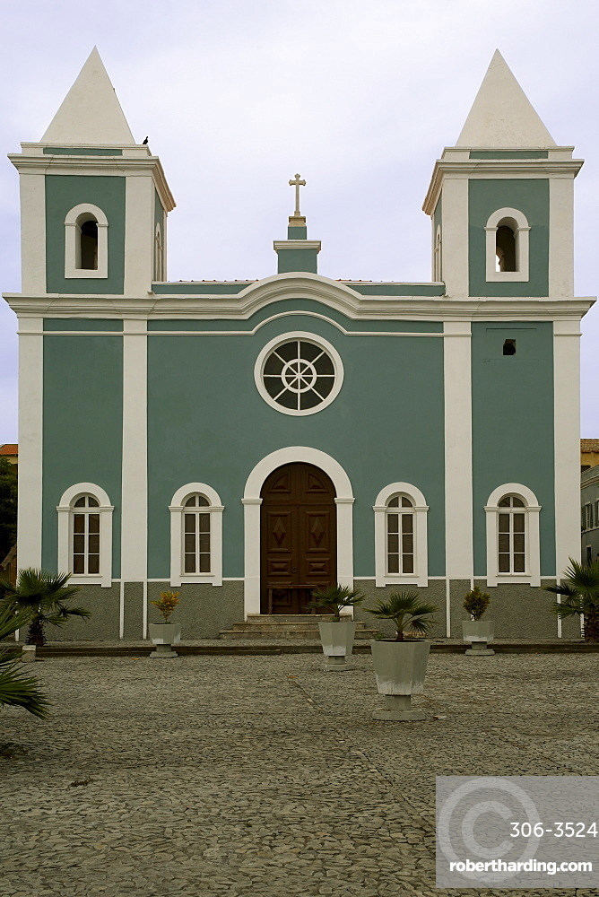Cathedral, Sao Filipe, Fogo, Cape Verde Islands, Africa