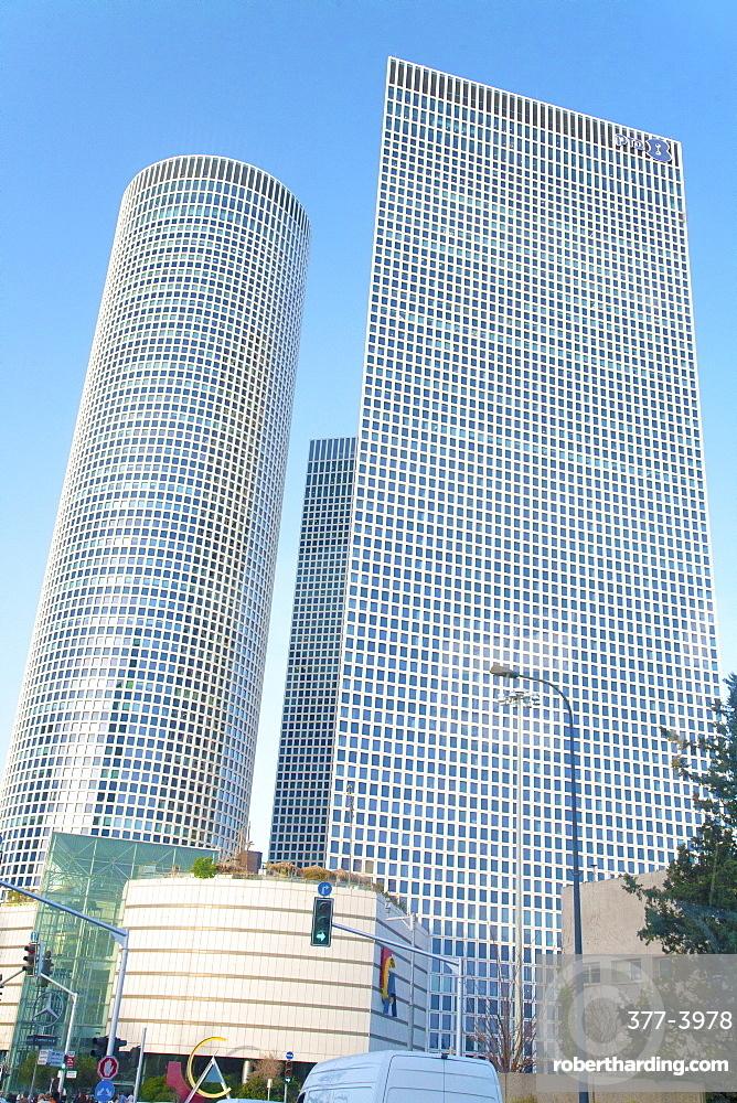 The Azrieli Center, Tel Aviv, Israel, Middle East