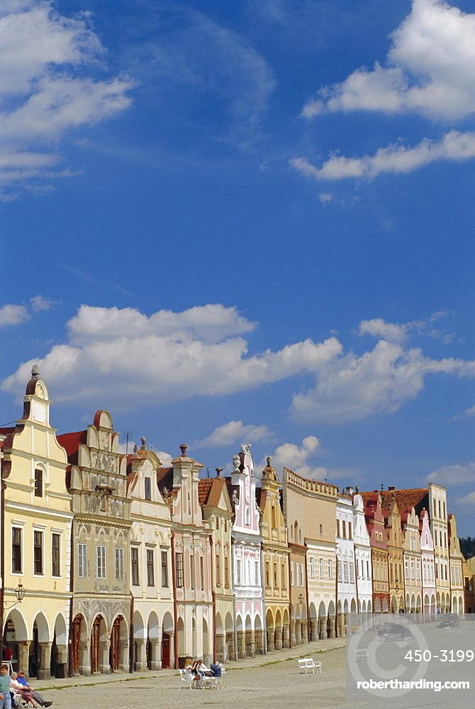 Telc, South Moravia, Czech Republic, Europe